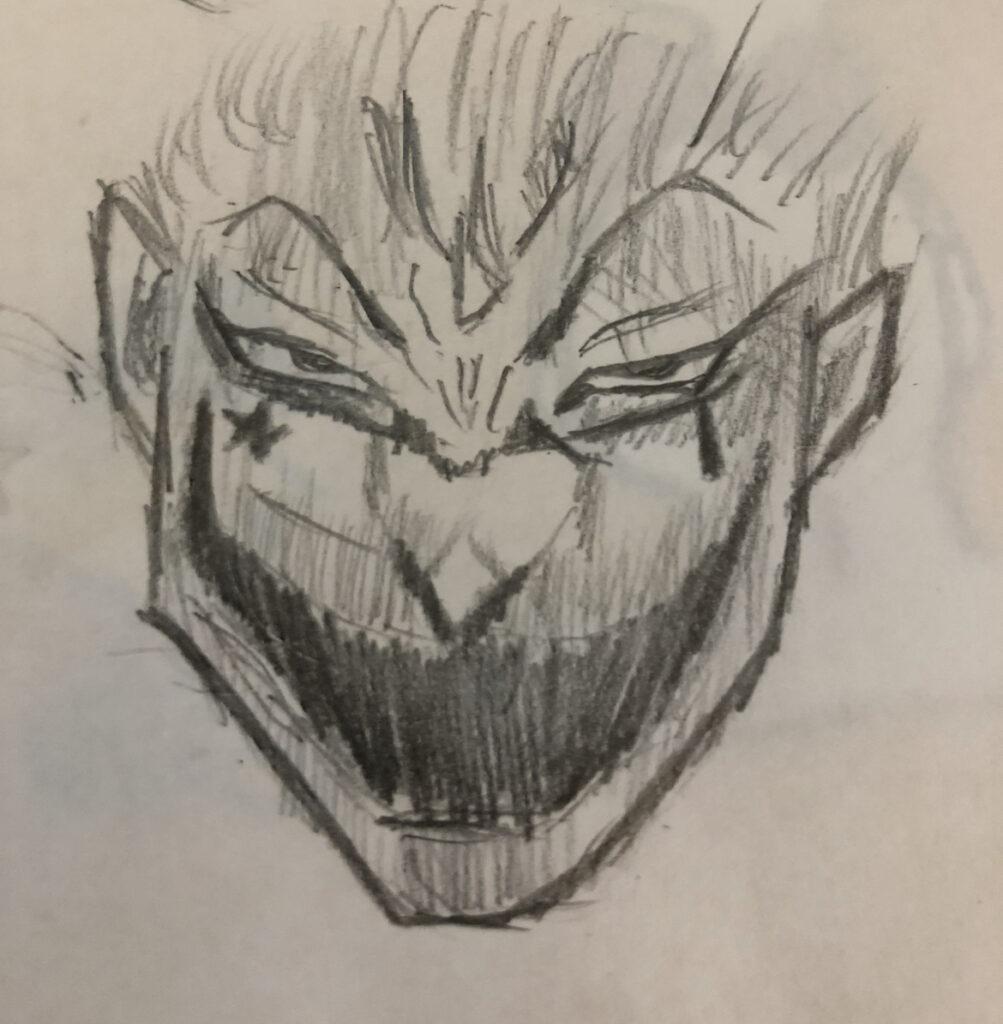 僕が描いたヒソカ